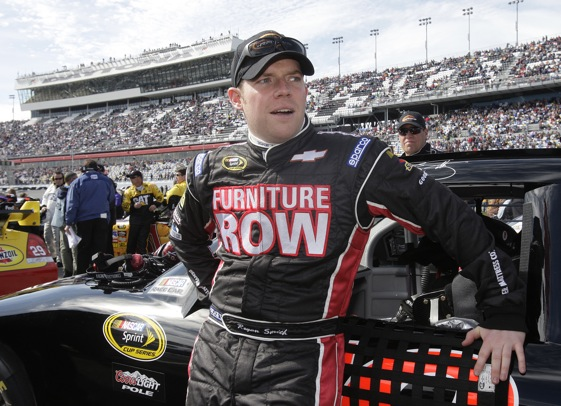 Regan Smith has the luxury of a full time gig this season. (Photo courtesy of Furniture Row Racing)