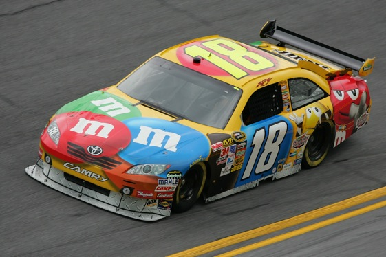Racin today kyle busch resurfaces late to win richmond - Pictures of kyle busch s car ...