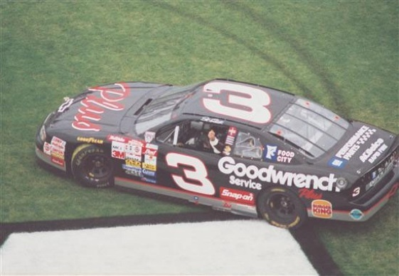 Dale Earnhardt ruled at Charlotte in '86. (File photo courtesy of NASCAR)
