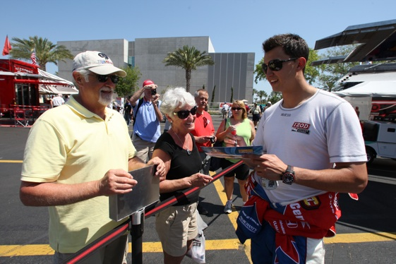 Graham Rahal helping to put America back into American open-wheel racing.