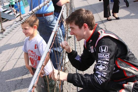 JR Hildebrand will take over for Josef Newgarden at Ed Carpenter Racing.