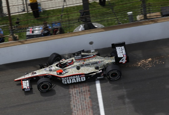 The yard of bricks. (File photo courtesy of the IZOD IndyCar Series)