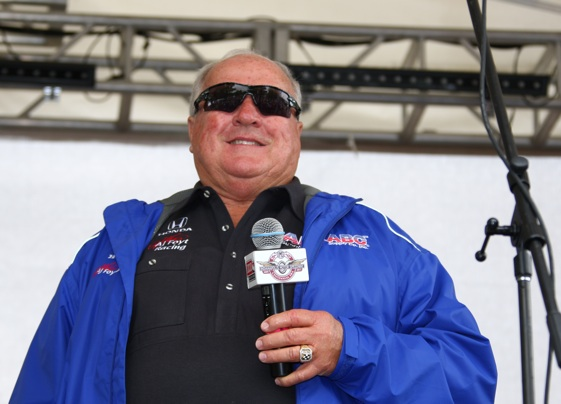 A.J. Foyt makes a return to the Indy 500 starting grid for the 100th running of the race. (File photo courtesy INDYCAR)