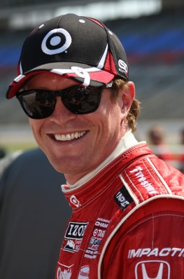 Scott Dixon trashed the track record at Mid-Ohio.