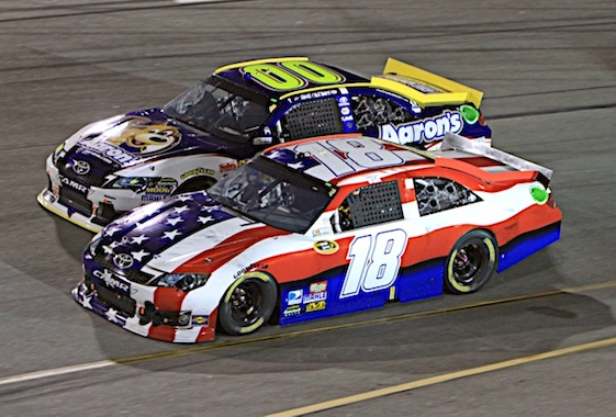 Racin today williams nascar drivers remember 9 11 - Pictures of kyle busch s car ...