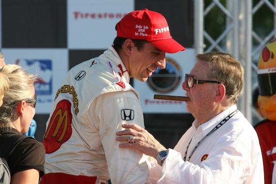 IndyCar team owner Carl Haas passed away this week. Among his many drivers was Justin Wilson. (File photo courtesy of INDYCAR)