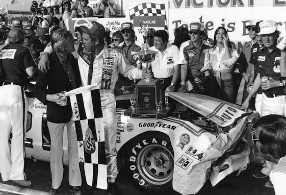 David Pearson was the driver to beat at Charlotte Motor Speedway in the 1970s.