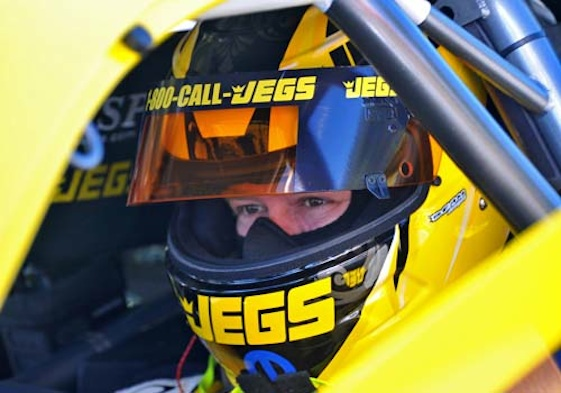Jeg Coughlin Jr. will be coming out of retirement this weekend. (Photo courtesy of Team Jegs)