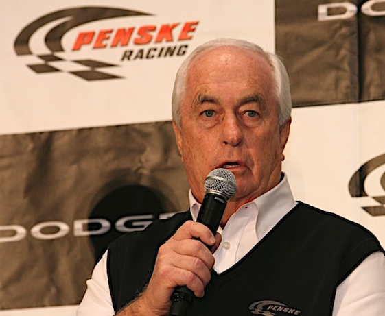Roger Penske lost a big contest with Bruton Smith in Atlanta. (RacinToday/HHP file photo by Harold Hinson)