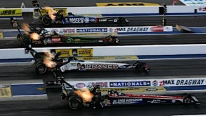 Racin today it was a good weekend to watch electronically for Texas motor speedway drag racing