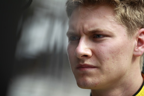 Josef Newgarden says injured hand still giving him pain. (INDYCAR/LAT USA file photo)