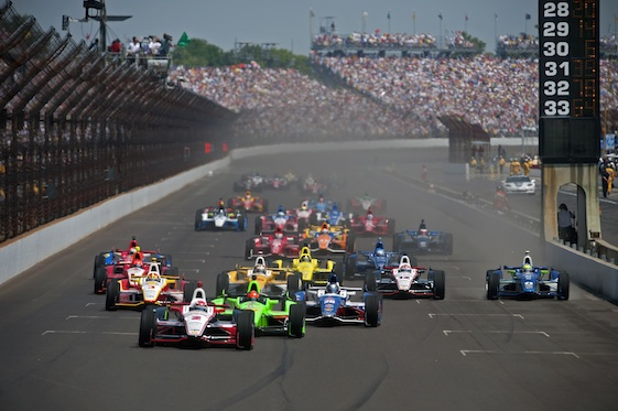 With only 33 cards and drivers entered for the 100th running of the Indianapolis 500, there will be no Bump Day in qualifying. (INDYCAR/LAT USA file photo)