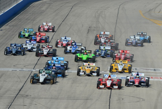 The wide, racy and historic Milwaukee Mile has left the IndyCar house.