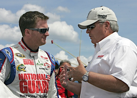 Rick Hendrick was elected to NASCAR's Hall of Fame on Wednesday. (RacinToday/HHP file photo by Alan Marler)