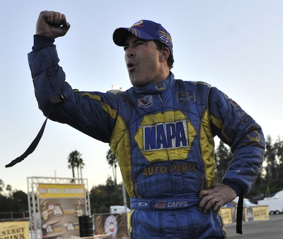 Ron Capps is closing in on his first Funny Car championship. (File photo courtesy of the Mello Yello NHRA Drag Racing Series)