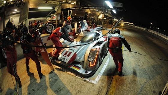 Audi dominated Le Mans and the WEC in recent years.