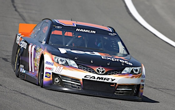 Denny Hamlin opened the 2015 Chase with a victory. (RacinToday/HHP file photo by Harold Hinson)