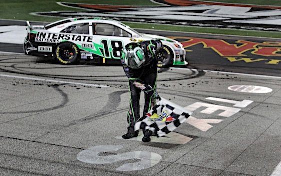 Kyle Busch is hoping to take another bow at Texas. (RacinToday/HHP file photo by Alan Marler)