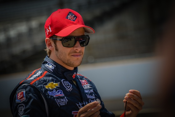 Marco Andretti has familial name recognition.