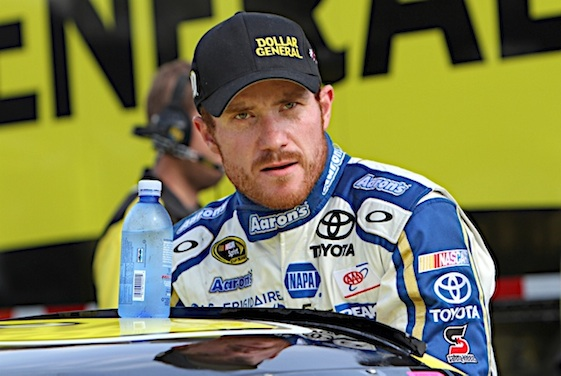 Brian Vickers will miss the rest of the 2015 NASCAR season. (RacinToday/HHP file photo by Alan Marler)