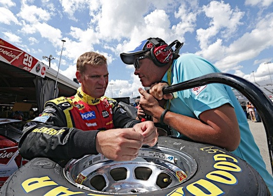 Clint Bowyer and Michael Waltrip will be going in separate directions next season. (RacinToday/HHP file photo by Harold Hinson)
