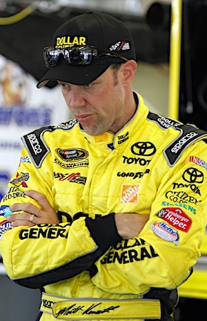 Matt Kenseth will start from the pole on Sunday. (RacinToday/HHP file photo by Brian Lawdermilk)
