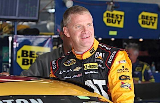 Jeff Burton won the first Cup race at Texas Motor Speedway. He will be the 18th member of that state's racing Hall of Fame. (RacinToday/HHP file photo by Alan Marler)