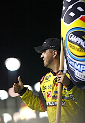 Matt Crafton is chasing a third straight championship. (RacinToday/HHP file photo by Brian Lawdermilk)