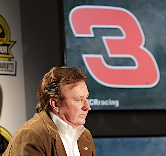 Richard Childress and Dale Earnhardt have a big history at Charlotte Motor Speedway. (RacinToday/HHP file photo by Harold Hinson)