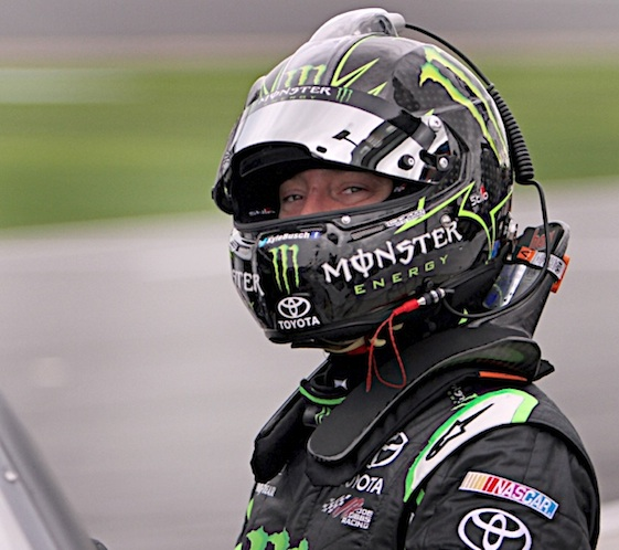 Kyle Busch won Saturday's XFINITY Series in Kansas. (RacinToday/HHP file photo by Alan Marler)