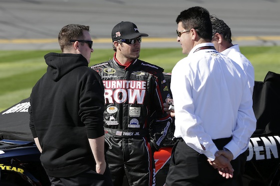 Martin Truex Jr. had a tough Contender day at Kansas.