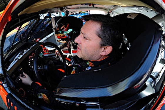 Tony Stewart got his first victory of the season Sunday when he won at Sonoma. (RacinToday/HHP file photo by Rusty Jarrett)