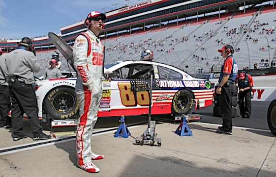 Dale Earnhardt Jr. stressed on Friday that he is not ready to call it quits as a driver. (RacinToday/HHP file photo by Alan Marler)
