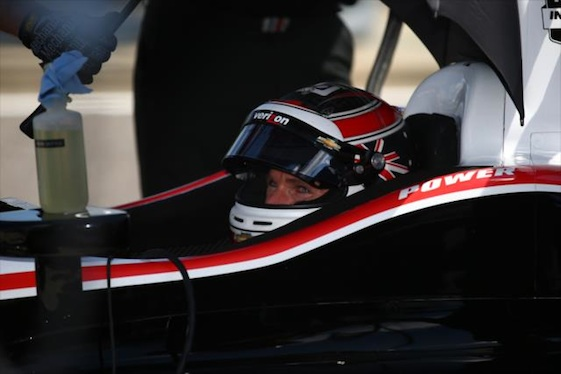 Will Power sends message on Carb Day.. (File photo courtesy of INDYCAR)