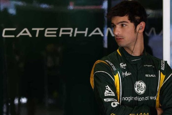 Alexander Rossi is set to make his first F1 start this weekend. (Photo courtesy of U.S. Grand Prix)