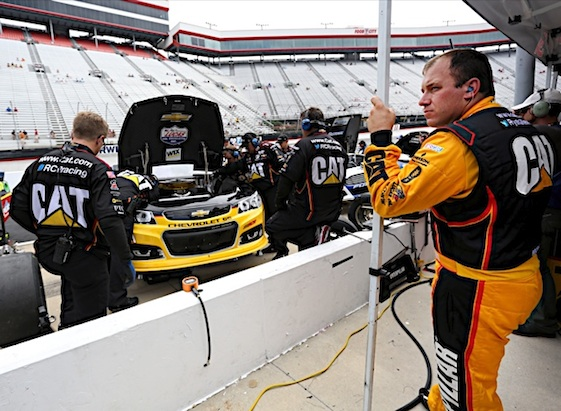 Ryan Newman suffered a blow to his Chase hopes thanks to penalties from Darlington. (RacinToday/HHP file photo by Christa L Thomas)