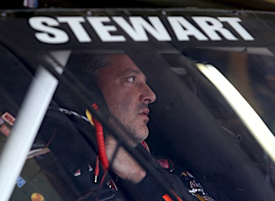 Tony Stewart still not certain when he will return to the cockpit. (RacinToday/HHP file photo by Christa L Thomas)