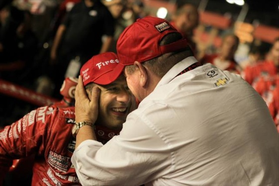 Tony Kanaan and team owner Chip Ganassi will spend another season together.