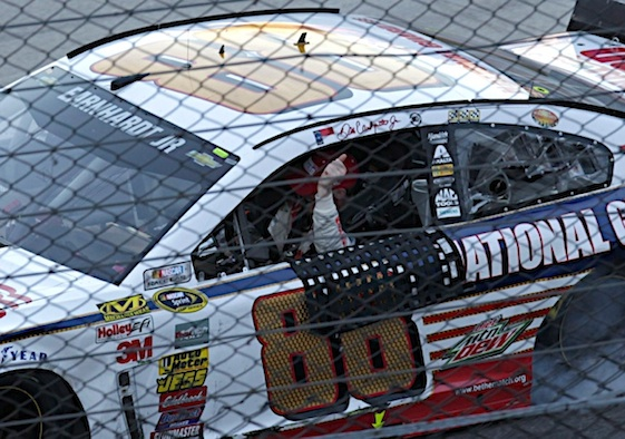 Dale Earnhardt Jr. head to won of his best tracks in need of a victory. (RacinToday/HHP file photo by Garry Eller)
