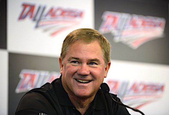 Two-time NASCAR champion Terry Labonte  was the top vote getters in balloting Wednesday to determine the five new members of the NASCAR Hall of Fame.  (RacinToday/HHP photo by David Tulis)