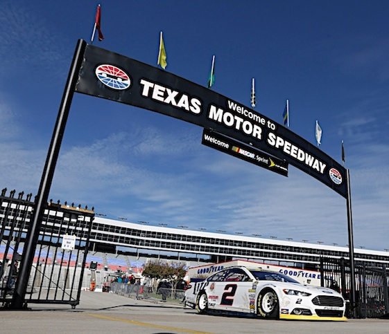 Brad Keselowski and his Team Penske boys are shoing big speed at TMS. (RacinToday/HHP file photo by Harold Hinson)