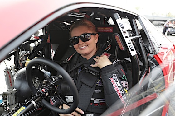 NHRA Pro Stock driver Erica Enders showed that she may be back on track Friday. (RacinToday/HHP file photo by Garry Eller)