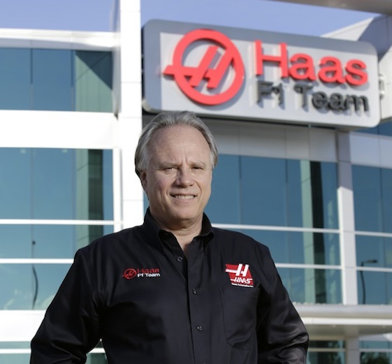 Gene Haas thinks his new F1 driver can score points next year. (RacinToday/HHP photo by Garry Eller)