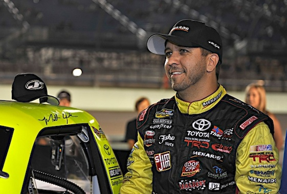 Matt Crafton got his first victory at the Monster Mile on Friday. (RacinToday/HHP file photo by Rusty Jarrett)