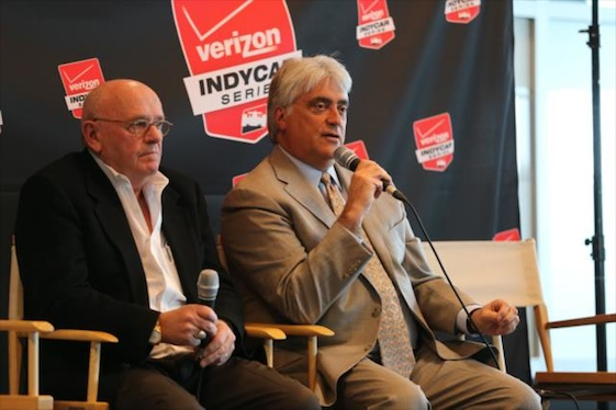NASCAR boss Mark Miles said last weekend's race at Auto Club Speedway was