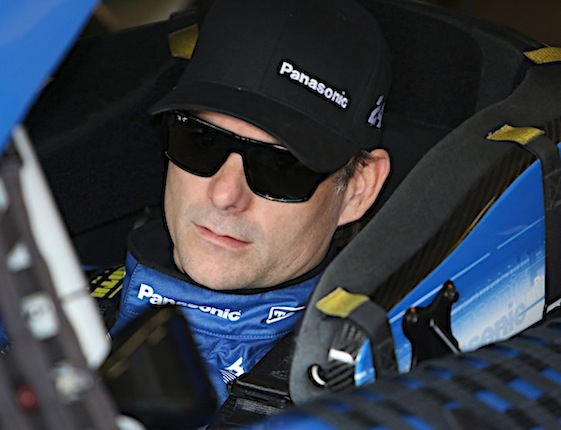 Jeff Gordon says Texas Motor Speedway is rather exciting. (RacinToday/HHP photo by Tim Parks)