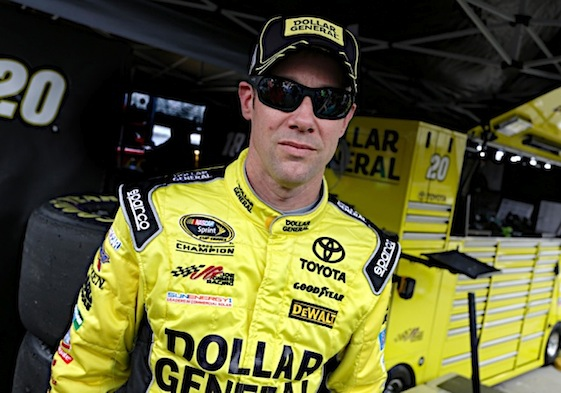 Matt Kenseth ended a long dry spell on a wet day in Tennessee. (RacinToday/HHP photo by Garry Eller)