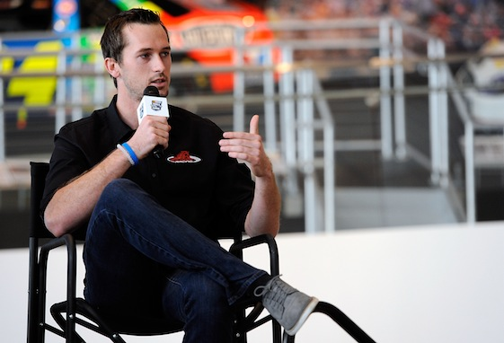 Ben Kennedy has the brains and the bloodline to go a long way in NASCAR. (Photo by Jared C. Tilton/NASCAR via Getty Images)