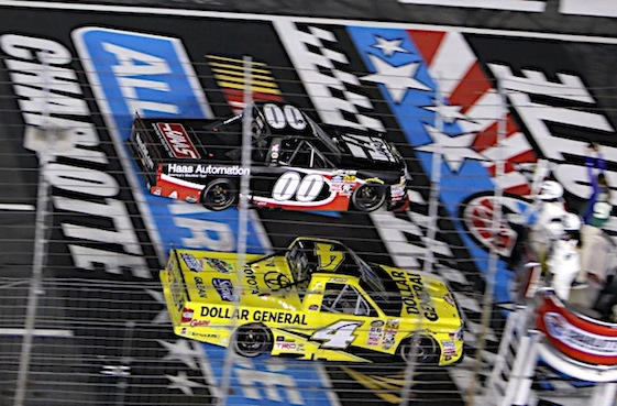 Racin Today Kahne Reigns In Charlotte Truck Race