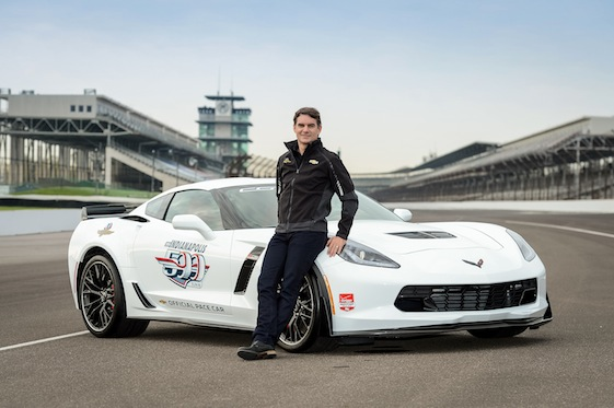 Jeff Gordon will pace the field in this year's Indianapolis 500.